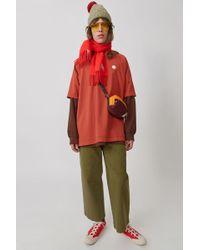 Acne Studios - Chino Trousers khaki Green - Lyst