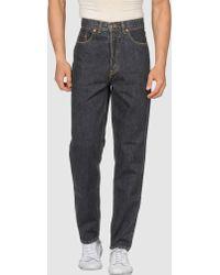 Levi's Denim Pants gray - Lyst