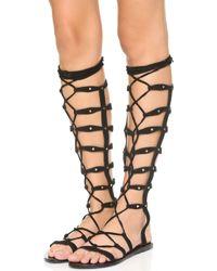 RAYE - Shanna Tall Gladiator Sandals - Lyst