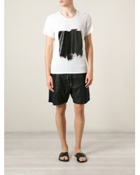 Avelon Paint Print T-Shirt - Lyst