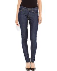 Cheap Monday Dark Wash Skinny Jeans - Lyst