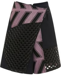 Opening Ceremony Mallory Twill Utility Short - Lyst