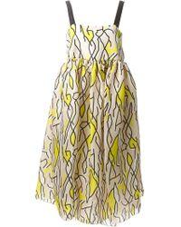 Ellery 'Zissou' Strappy Dress - Lyst