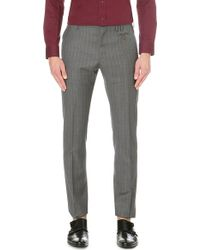 Vivienne Westwood Pinstripe Slim-fit Wool Trousers - Lyst