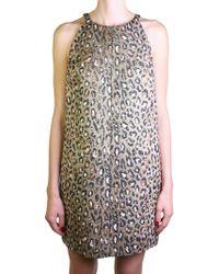 Saint Laurent | Animalier Dress | Lyst