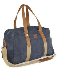 Faguo Navy Weekend Bag - Lyst
