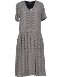 Paul Smith Black Label Knee-Length Dress - Lyst