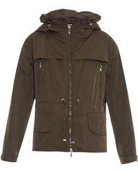 Moncler Valline Contrast-Panel Jacket - Lyst