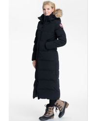 Canada Goose expedition parka replica price - Canada goose Trillium Fur Trim Hooded Parka: Black in Black | Lyst