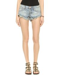 One Teaspoon Ford Bonita Shorts - Ford - Lyst