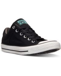 Converse Men'S Chuck Taylor High Street Ox Casual Sneakers From Finish Line - Lyst