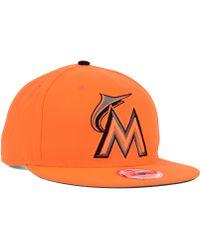 New Era Miami Marlins Snap-dub 9fifty Snapback Cap - Lyst
