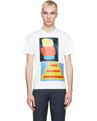 Marni | White Geometric Jack Davidson Edition T-shirt | Lyst