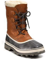 Sorel Caribou Wool Boots - Lyst