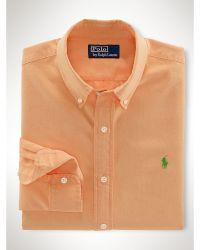 Polo Ralph Lauren Slim-fit Surf-wash Oxford - Lyst