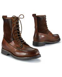 Ralph Lauren Vachetta Kingweston Boot - Lyst