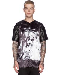 Sons Of Heroes Damaged Goods Crying Mary Baseball Tee - Lyst