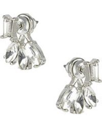 Topshop Navette Front And Back Earrings - Lyst