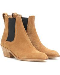 Rag & Bone Dixon Suede Ankle Boots - Lyst