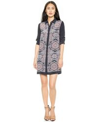 Club Monaco Crisanta Dress  Architectural Lace - Lyst