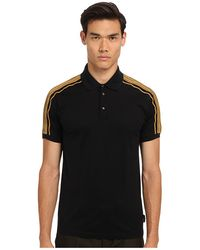 Marc Jacobs Gold Trim Polo - Lyst