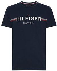 Tommy Hilfiger T-shirt Flag - Groen