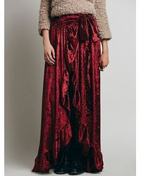 Free People Montgomery Maxi Skirt - Lyst