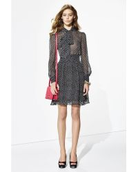 Diane von Furstenberg - Arabella Polka-Dot Dress - Lyst