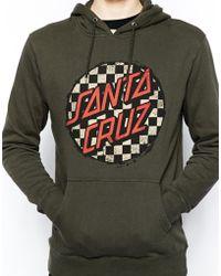 Santa Cruz Hooded Sweat - Gray