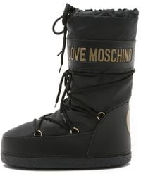 Boutique Moschino - Love Moschino Snow Boots - Black - Lyst