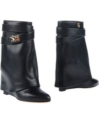 Givenchy Black Ankle Boots - Lyst