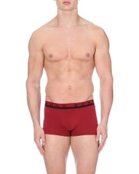 Hugo Boss Logo Waistband Trunks - Lyst