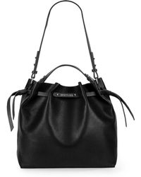 Kenneth Cole Reaction - Colorblock Faux Leather Bucket Bag - Lyst