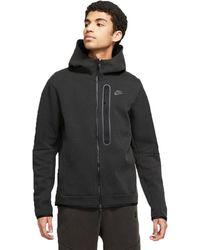Nike - Sportswear Tech Fleece Hoodie Blackdd3100-010 - Lyst