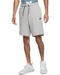 Nike Sportswear Tech Fleece Shorts - Gray