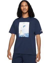Nike - Sportswear Reissue Tee Midnight Navyda0939-410 - Lyst