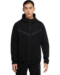 Nike - Sportswear Tech Fleece Hoodie Blackcu4489-010 - Lyst