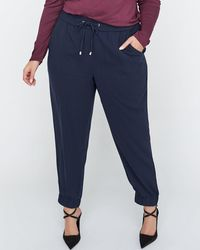 907c7ba396fbd Addition Elle - Pull-on Ankle Jogger Pant With Drawstring - Michel Studio -  Lyst