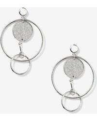 Addition Elle - Linked Circular Earrings - Lyst