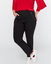 Addition Elle - Tall Modern Stretch Slim Leg Pant - Michel Studio - Lyst