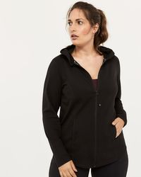 c577fed9ed003 Lyst - Addition Elle Plus-size Packable Jacket With Hood ...