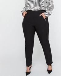 Addition Elle - Modern Stretch Slim Leg Pant - Michel Studio - Lyst