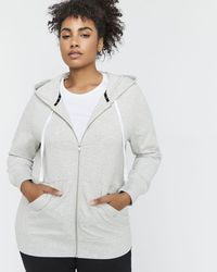 Addition Elle - Nola French Terry Zip Up Hoodie - Lyst