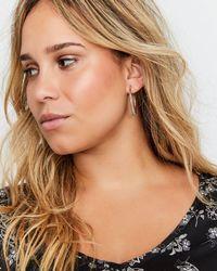 Addition Elle - Wrap Hoop Earrings - Lyst