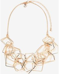 Addition Elle - Geometric Necklace - Lyst