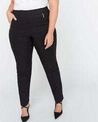 Addition Elle - Petite Modern Stretch Slim Leg Pant - Michel Studio - Lyst