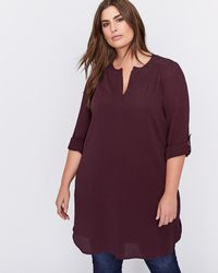 Addition Elle - Shirt Dress - Michel Studio - Lyst