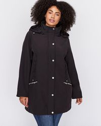 Addition Elle - Soft Shell Jacket With Side Lace-up - Nola - Lyst