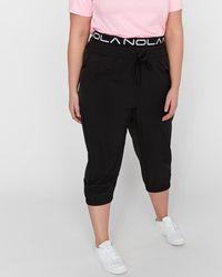 Addition Elle - Nola Branded Capri Jogger - Lyst