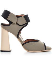 Marni Neoprene High-heel Sandal - Black